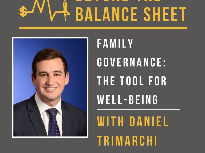 Family Governance: The Tool for Well-Being